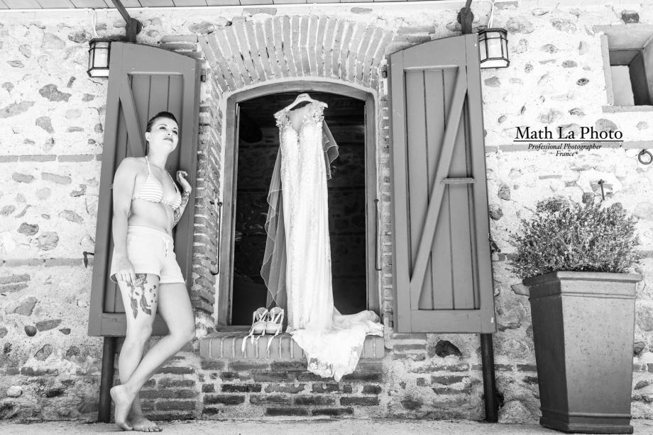 Math La Photo Photographe de mariage à Perpignan - Chateau Nadal Hainault