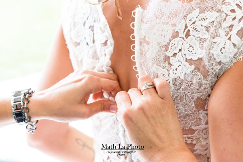 Robe de mariage - Perpignan - Photo