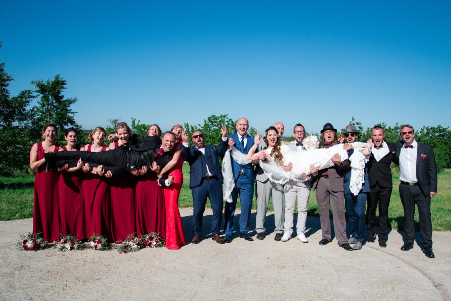 Mariage Perpignan domaine de belric