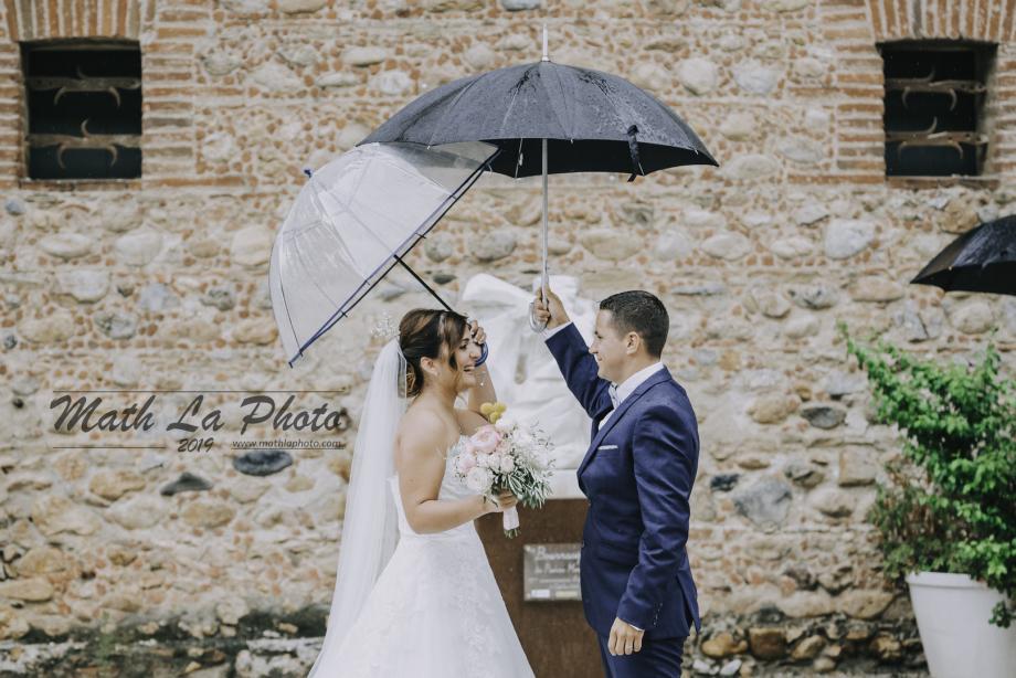 Mariage dans le 66 avec Math La Photo - Commune de Baixas  -