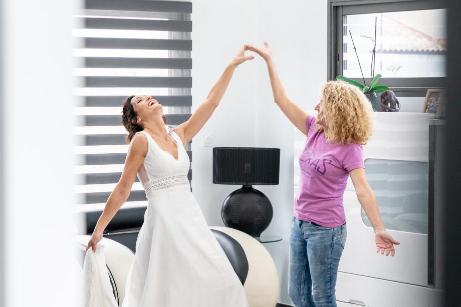 Mariage au clos des lys