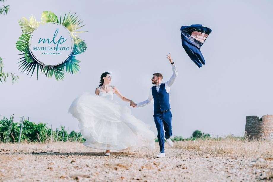Photographe mariage au domaine de rombeau rivesaltes 66